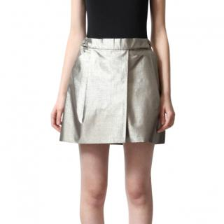 Chloe Metallic Mini Skirt