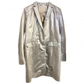 Make Silver Distressed Coat