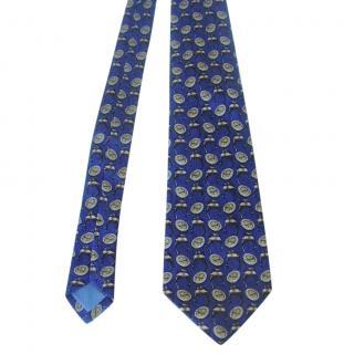 Celine Vintage Printed Tie