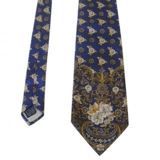 Pierre Balmain Silk  Printed tie
