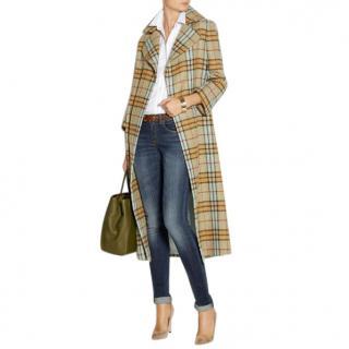 Emilie Wickstead long tartan coat