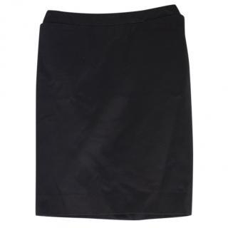 Yves Saint Laurent Black Skirt