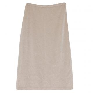 Valentino Jersey Pencil Skirt