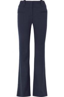 Altuzarra Serge Wool-blend Pique Bootcut Pants