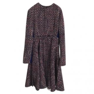 Christian Dior Tweed Two Piece Coat
