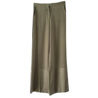 Robert Rodriguez silk trousers