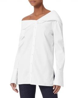 Victoria Victoria Beckham Asymmetric One Shoulder Shirt