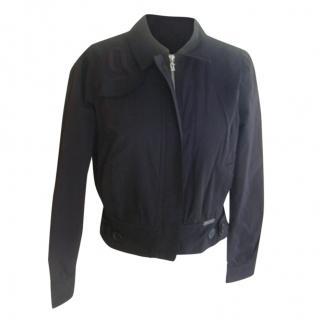 John Galliano Fitted Black Jacket