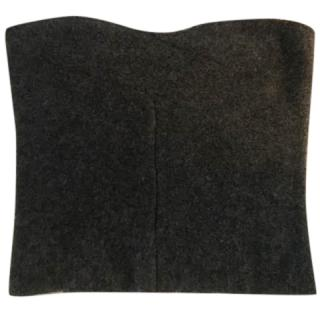 Stella McCartney Maureen Grey Wool Bustier