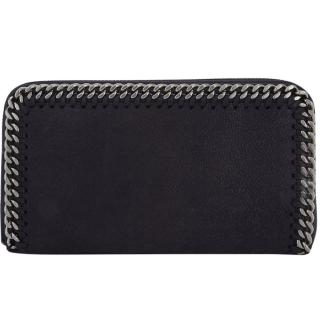 Stella McCartney Navy Falabella Zip Around Purse