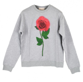 Christopher Kane Beauty and the Beast enchanted rose sweatshirt