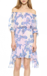 Diane Von Furstenberg 'Camilla Two' Silk-Chiffon Printed Dress