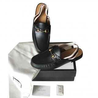 Gucci Men's Slingback Moccasin Sandals