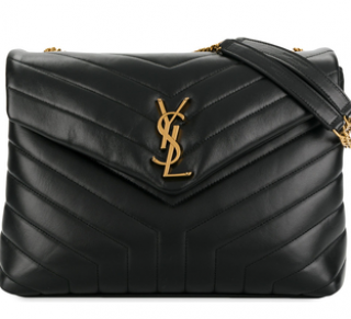 Saint Laurent Loulou Leather SHoulder Bag