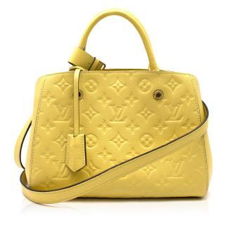 Louis Vuitton Monogram Embossed Empreinte Leather Crossbody Bag