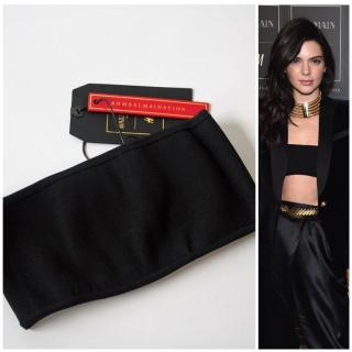 Balmain X H&M Black Bandeau Top