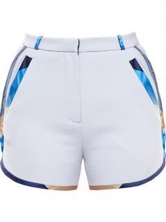 Ostwald Helgason Mikado Silk Trim Shorts