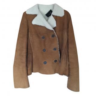 Isabel Marant sheepskin jacket