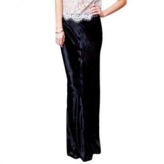 T by Alexander Wang Panne Velvet Skirt