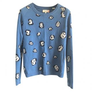 Chinti & Parker 100% Cashmere Blue Jumper