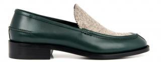 Balenciaga Leather & Felt Shoes