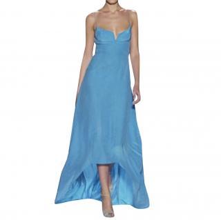 Narciso Rodriguez Silk Runway Dress