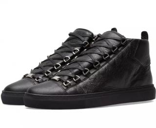 Balenciaga Arena High Classic Black Sneakers