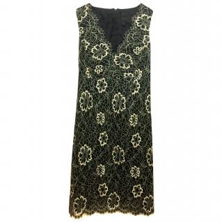 Anna Sui floral lace dress