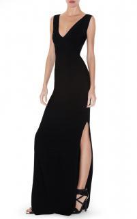 Herve Leger Black Gwen Bandage Gown
