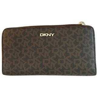 DKNY brown purse