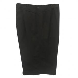 Gucci Black Pencil Skirt
