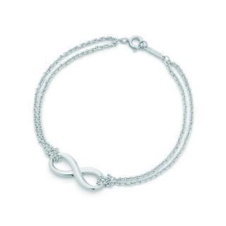 Tiffany & Co. Infinity silver bracelet