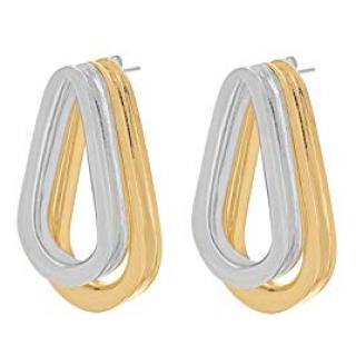 Annelise Michelson Double Gold Ellipse Earrings