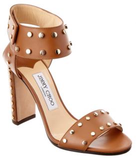 Jimmy Choo Veto Studded Leather Sandals