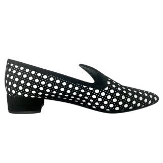 Dior Lasercut Cannage Loafers