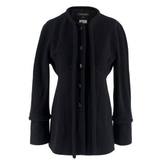 Chanel Black Wool Jacket