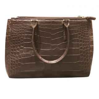 Anya Hindmarsh bespoke crocodile handbag