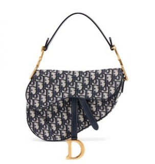 Dior Oblique Saddle Bag - Current