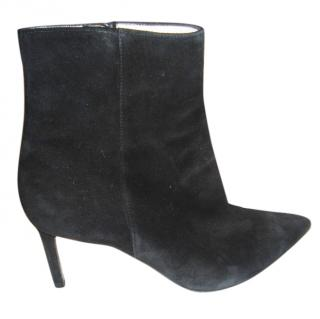 Roberto Festa black suede ankle boots