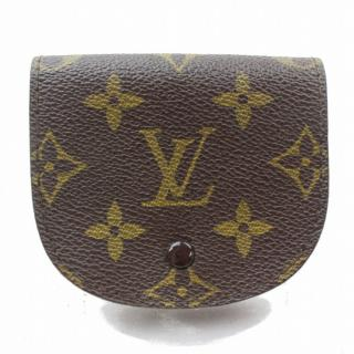 Louis Vuitton Porte Monnaie Gousset Brown Monogram Coin Purse
