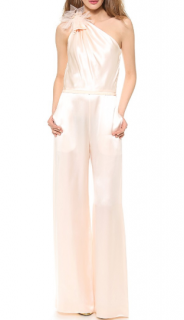 Moschino Silk Asymmetric Jumpsuit