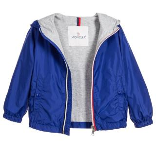 Moncler Boys Blue Windbreaker Jacket