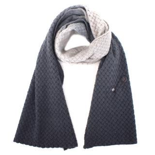 Bottega Veneta Cashmere & Wool-blend Ombre Woven Scarf