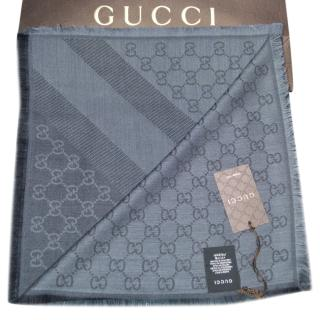 Gucci GG Web Monogram Scarf