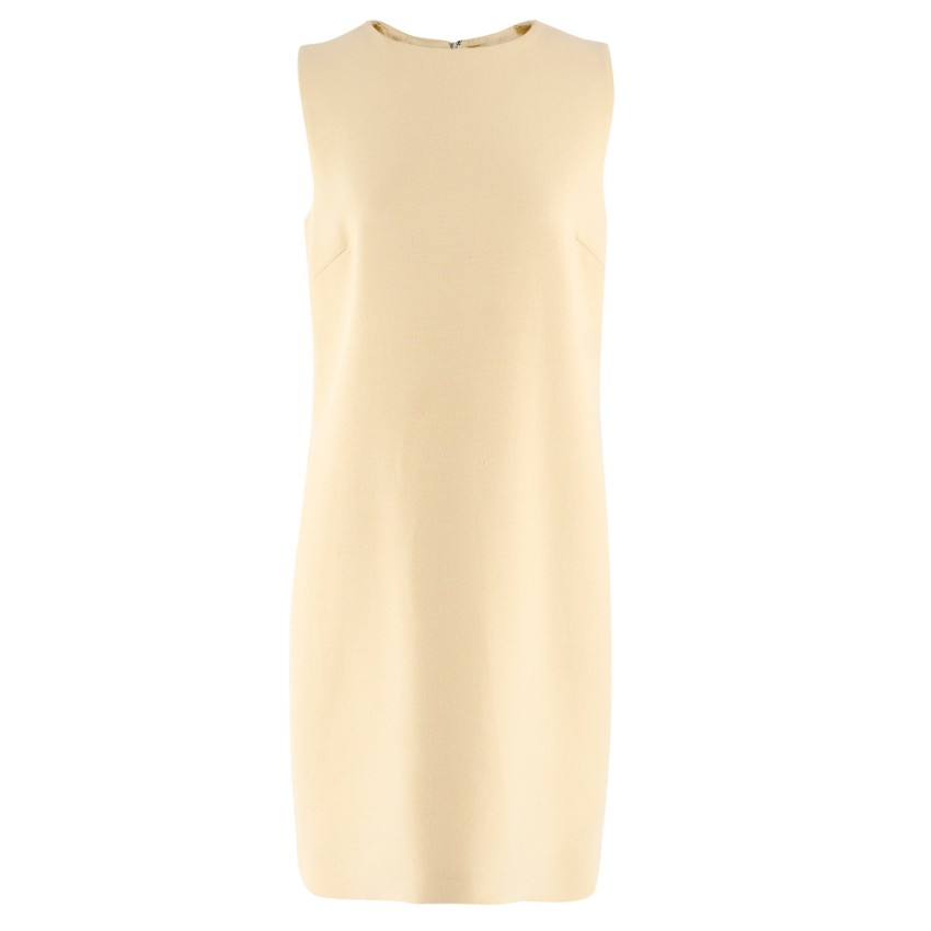 Dolce & Gabbana Yellow Shift Dress