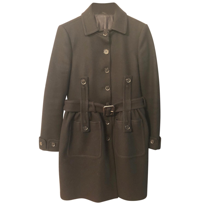 Gucci Black Wool Coat