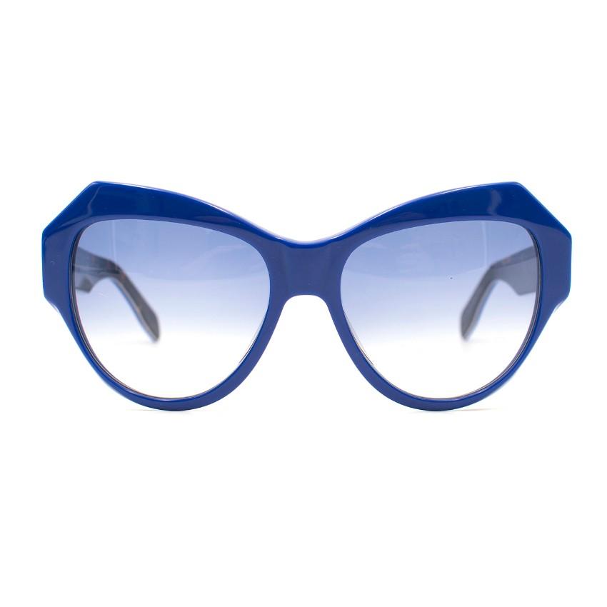 14cd86e4929a Zanzan Cobalt Blue Cateye Sunglasses