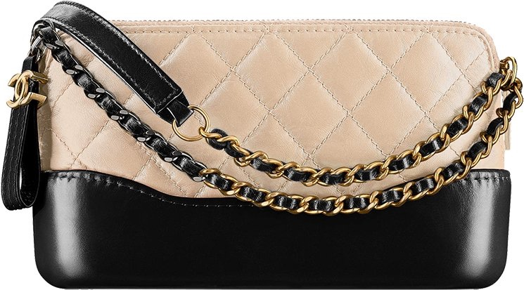 13fcc69ab95822 Chanel Aged Calfskin Quilt Small Gabrielle Bag | HEWI London
