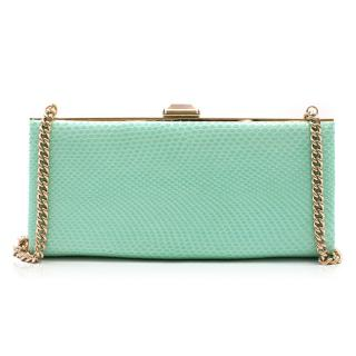 Christian Louboutin Kyeops Python Clutch