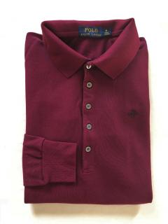 Polo Ralph Lauren burgundy classic polo shirt